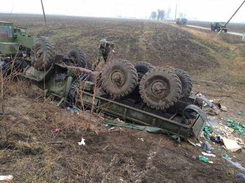 Image result for զինվորական մեքենայի վթար